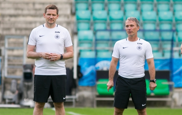 A-koondise viimased kaks peatreenerit on olnud eestlased. Foto: Brit Maria Tael