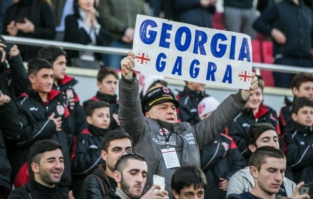 Eesti alustab ja lõpetab Rahvuste liiga mängudega Gruusia vastu. Foto: Brit Maria Tael