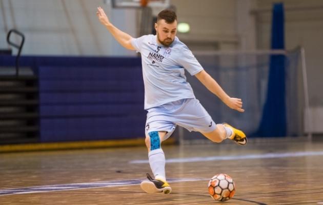 Babjak on tuntud saalijalgpallur. Foto: Jana Pipar / jalgpall.ee