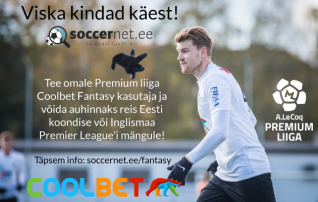 Premium liiga Coolbet Fantasy lennutab tänavu koondise välismängule ja Inglismaa Premier League'i kohtumisele!