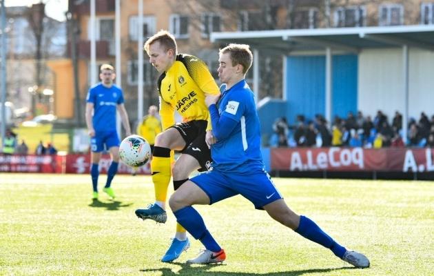 Tartu Tammeka - Viljandi Tulevik. Foto: Liisi Troska / jalgpall.ee