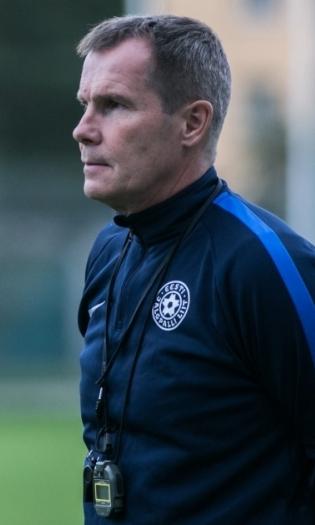 Eesti koondise peatreener Jarmo Matikainen. Foto: Brit Maria Tael