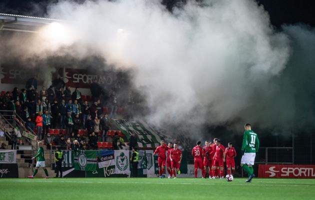 Premium liiga avasid FC Flora ja TJK Legion. Foto: Brit Maria Tael