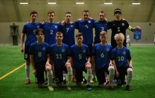 U16 koondis jäi treeningmängus alla Lõuna-Soomele