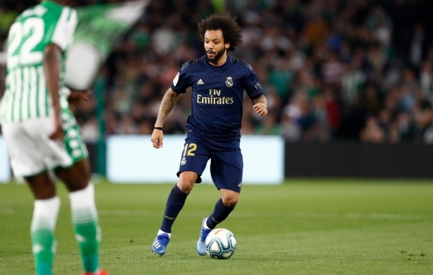 Marcelo. Foto: Real Madridi Twitter