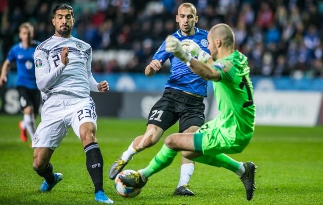Eesti koondise kaks järgmist mängu jäävad ära. Foto: Brit Maria Tael