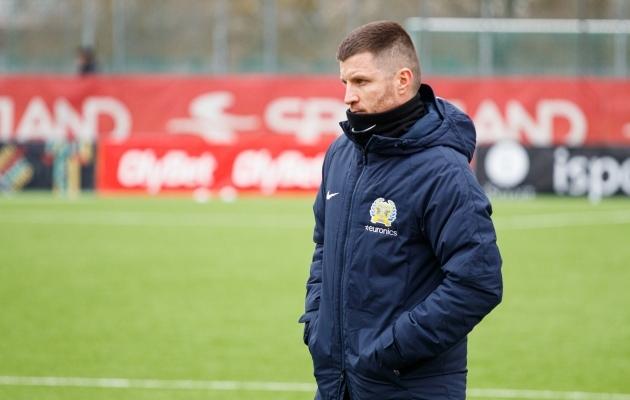 Kožuhhovski: nägin juba Tallinnas bussi astudes, et täna oleme valmis võitma