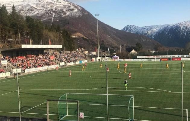 Mjölneri jalgpallikeskus asub maalilises asukohas. Foto: Mjolneri FB