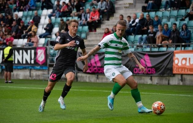 Paur kuulus Celticu vastu mõlemas mängus algkoosseisu. Foto: Liisi Troska