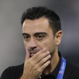 Xavi Hernandez. Al-Saddi Twitter