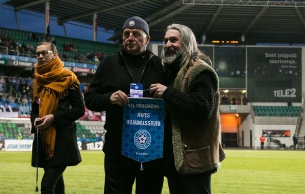 Eesti Jalgpalli Liidu Hõbemärgi laureaat Ants Kommussaar. Foto: Jana Pipar
