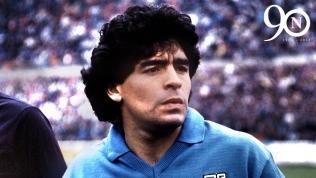 Napoli legend Diego Maradona. Foto: SSC Napoli Twitter