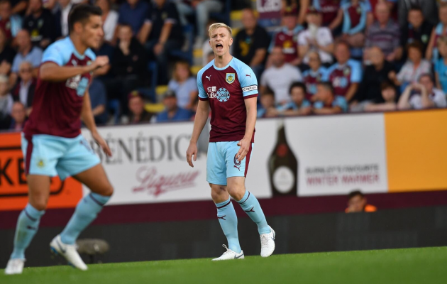 Burnley kapten Ben Mee. Foto: Burnley FC Twitter