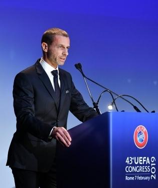 UEFA president Aleksander Ceferin. Foto: UEFA Twitter