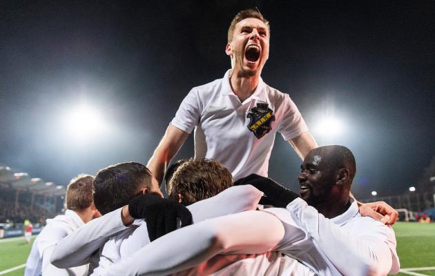 Mullu Euroopa liiga play-off'i jõudnud AIK jääb tänavu Euroopas kõrvaltvaatajaks. Foto: AIK-i Twitter