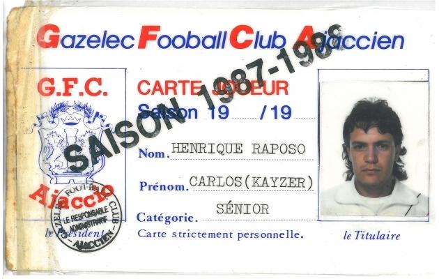 Kaiseri mängijalitsents Prantsusmaal hooajal 1987/88. Foto: KaiserFilm Twitter