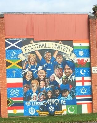 Seinamaaling Leicesteris. Foto: Ott Järvela erakogu