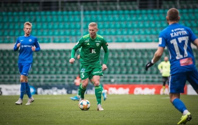 Juri Tkatšuki mängud FCI Levadia särgis said mängitud. Kui raskesse seisu tema lahkumine kullamõtetega klubi jätab? Foto: Jana Pipar / jalgpall.ee