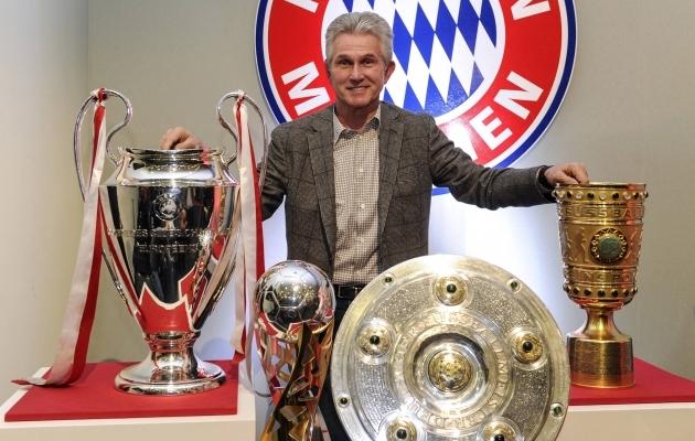 Jupp Heynckes on Bayerni eesotsas võitnud absoluutselt kõik. Foto: Müncheni Bayerni Twitter