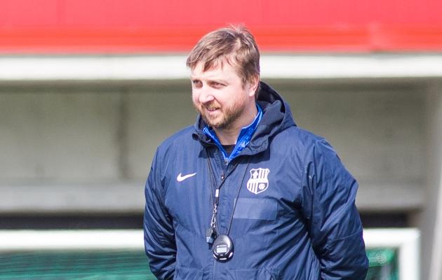 Paide Linnameeskonna peatreener Vjatšeslav Zahovaiko. Foto: Jana Pipar / jalgpall.ee