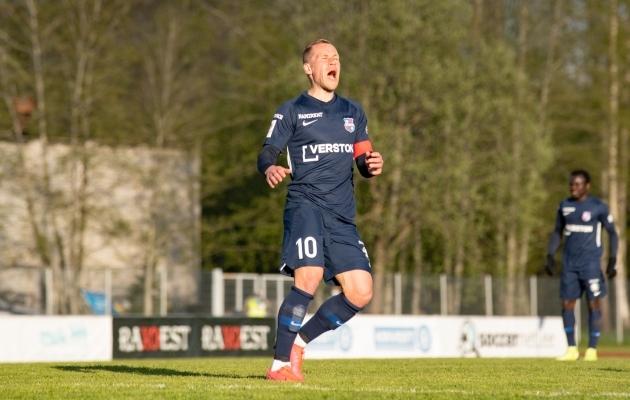 Andre Frolov. Foto: Liisi Troska / jalgpall.ee