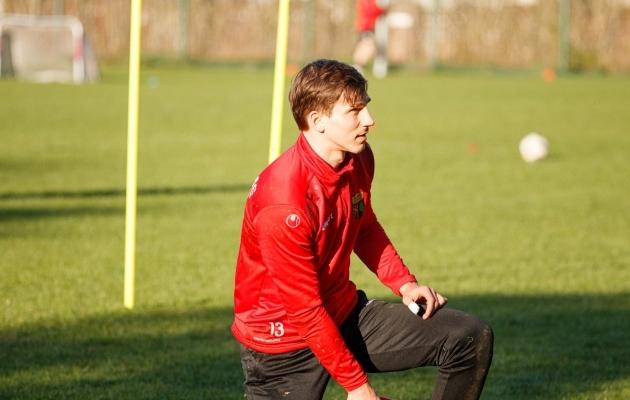 Nõmme Unitedi väravavaht Daniil Savitski. Foto: Oliver Tsupsman