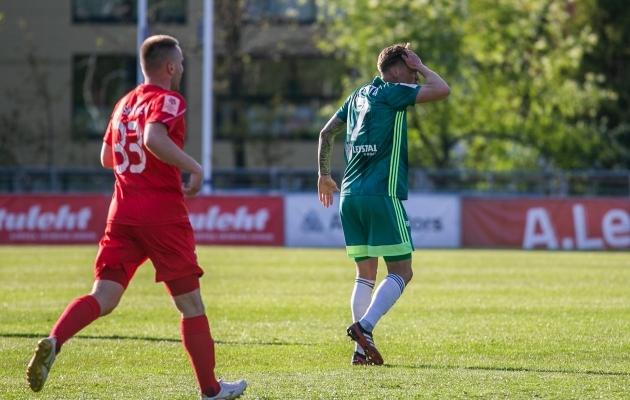 Mašitšev (punases) ja Lepistu (rohelises) patustasid võrdselt. Siin ei ole Lepistu otsusega nõus. Foto: Brit Maria Tael