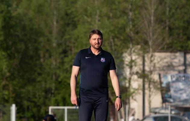 Paide peatreener Vjatšeslav Zahovaiko. Foto: Liisi Troska / jalgpall.ee
