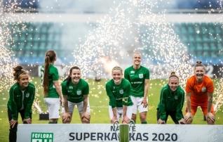 VAATA JÄRELE: juba avapoolajal neli väravat löönud Flora võitis kindlalt superkarika  (galerii!)