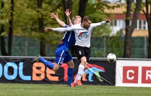 Hannes Anier lõi Tammekale kaks väravat ning oli InStat andmete põhjal 3. vooru parim mängija. Foto: Imre Pühvel