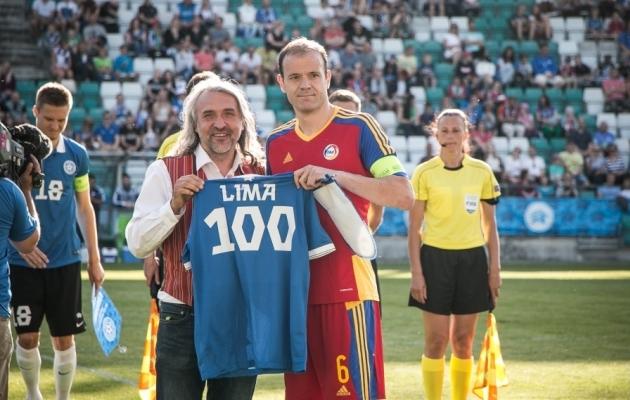 Eestiga on Ildefons Limal eriline suhe. Siin pidas ta oma esimese ja 100. koondisemängu ning lõi esimese koondisevärava. Foto: Jana Pipar