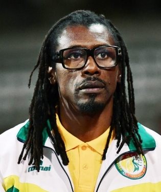 Senegali koondise peatreener Aliou Cisse. Foto: FIFA World Cup / Twitter