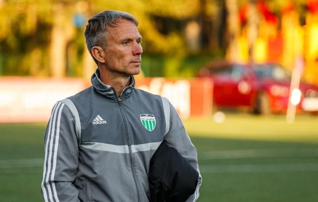 FCI Levadia peatreener Martin Reim. Foto: Oliver Tsupsman