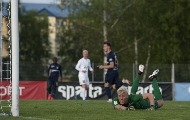 Siim Luts on Ingmar Krister Paplavskise just üle mänginud. Foto: Liisi Troska