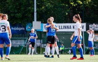 Tipphetked: nelja värava ja kahe latiga mängu võitis Kalevi naiskond