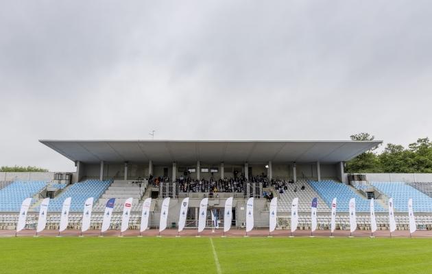 Eesti Olümpiakomitee üldkogu Kadrioru staadionil. Foto: Karli Saul/EOK