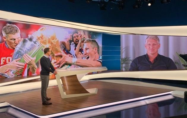 Schweinsteigeri rolli Saksamaa koondise tegudes näidatakse mitut puhku tegelikkusest suurema või ilusamana. Foto: Bastian Schweinsteigeri Twitter