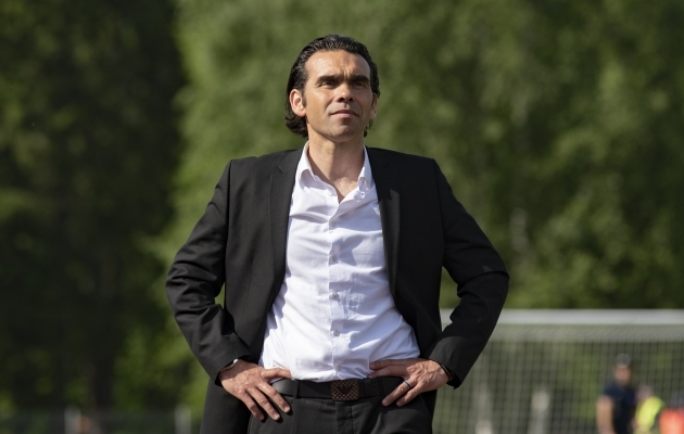 Cenk Özcan. Foto: Liisi Troska / jalgpall.ee