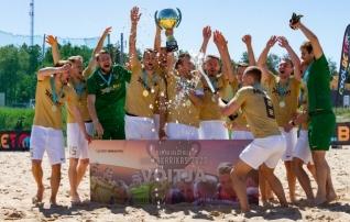 Tarmo Kink tuli Auguriga rannajalgpalli superkarika võitjaks