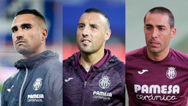 Sergio Asenjo, Santi Cazorla, Bruno Soriano. Kolm meest, kolm ühesugust saatust. Foto: La Liga Twitter