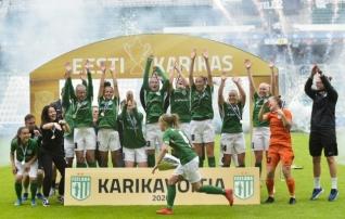 Luup peale | Võluvat jalgpalli näidanud Flora mammutvõit Kalevi üle paljastas Eesti naiste jalgpalli probleemi  (galerii!)