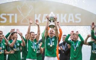 Luup peale   Flora kehtestas Eesti tippjalgpallis totaalse rohevalge võimu  (galerii!)