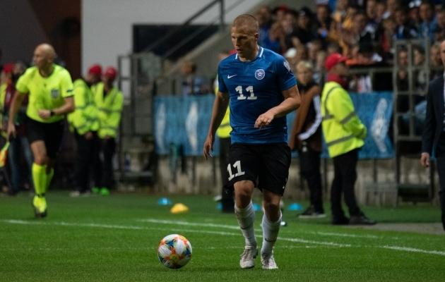 Henrik Ojamaa. Foto: Liisi Troska / jalgpall.ee