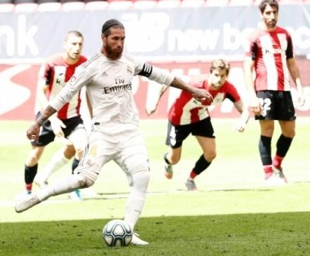 Nagu ikka! Raske mäng, penalti, Ramos ja Real jälle tiitlile oluliselt lähemal