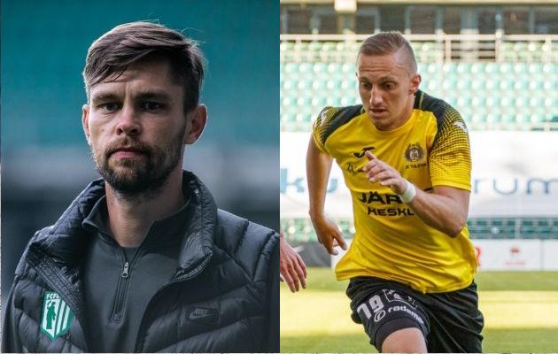 Jürgen Henn ja Pavel Marin.