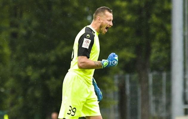 Tallinna Legioni väravavaht Pavel Londak. Foto: Liisi Troska / jalgpall.ee