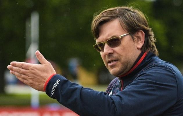Tallinna Legioni peatreener Deniss Belov. Foto: Liisi Troska / jalgpall.ee