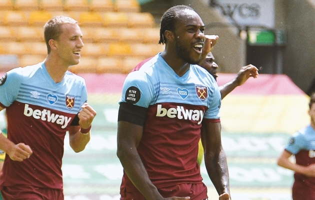 Michail Antonio. Foto: West Hami Twitter