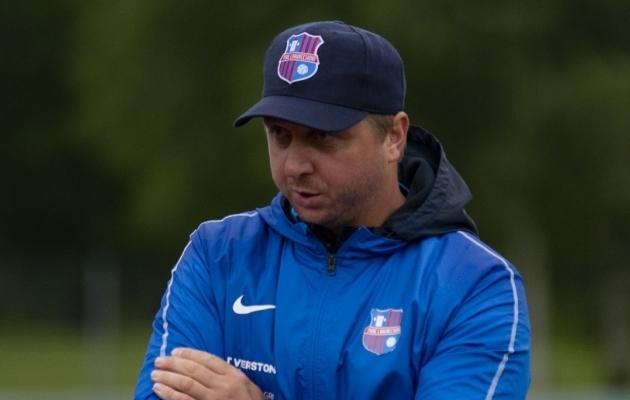 Paide Linnameeskonna peatreener Vjatšeslav Zahovaiko. Foto: Liisi Troska / jalgpall.ee
