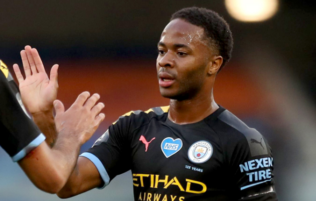 Raheem Sterling. Foto: Manchester City Twitter
